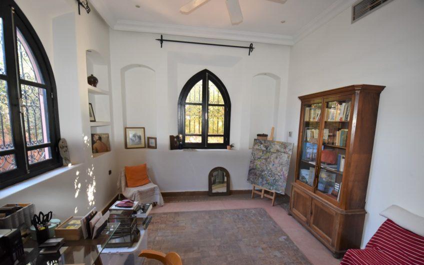 Marrakech école américaine villa à louer
