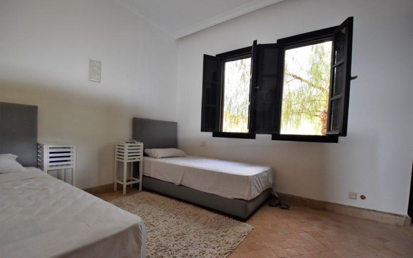 Marrakech Palmeraie villa location