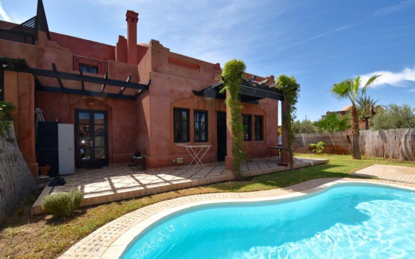 Marrakech Palmeraie villa à la vente piscine