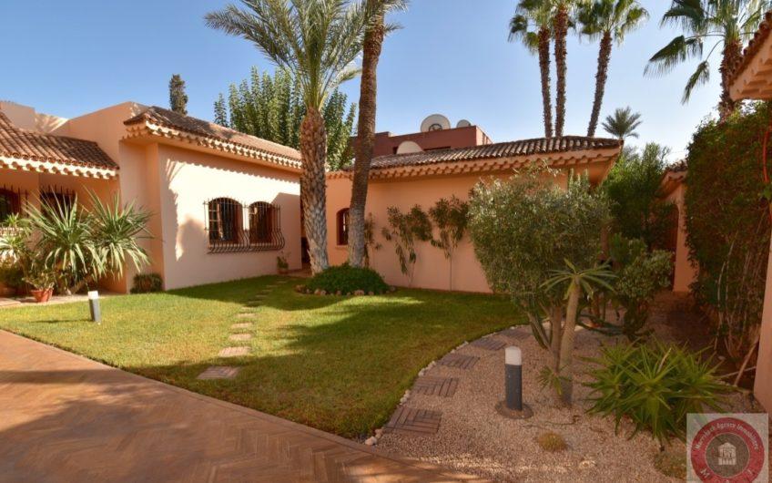 Marrakech Targa Villa à louer VIDE