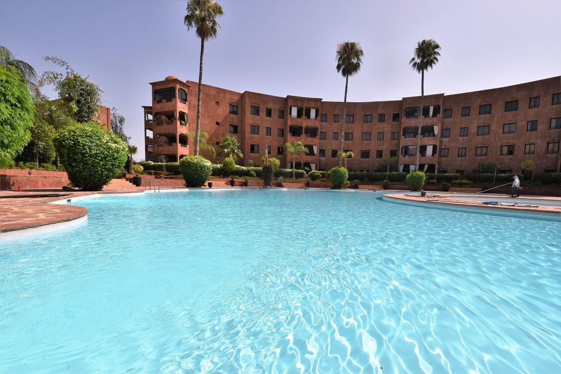 Marrakech appartement à vendre Palmeraie immobilier