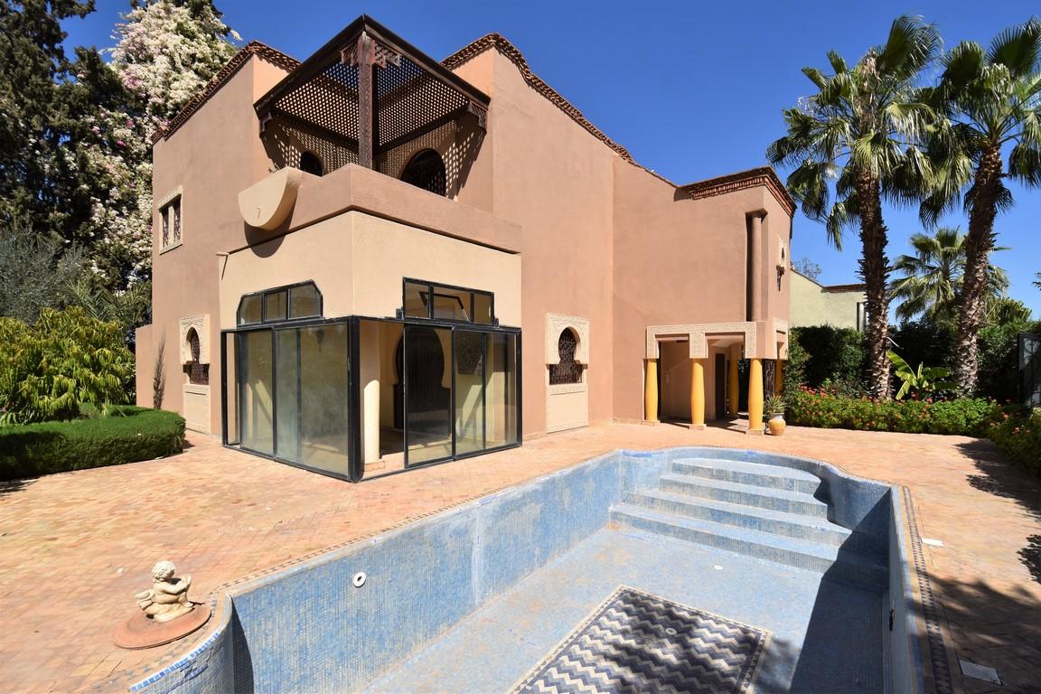 Marrakech école américaine villa à vendre