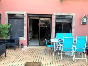 Immobilier Marrakech appartement à vendre Jardin privatif