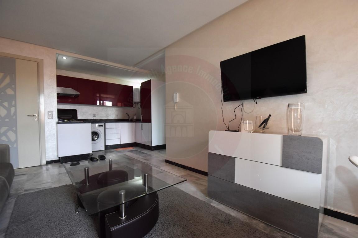 Marrakech Guéliz appartement à louer calme