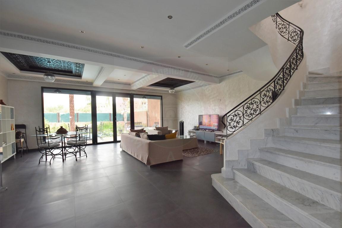 Marrakech Palmeraie villa à vendre rénovée