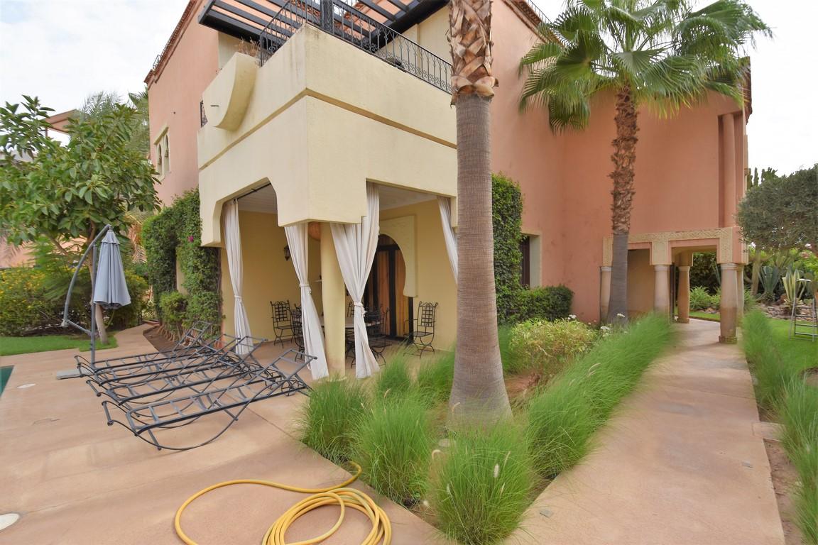 Marrakech Palmeraie villa location 4 chambres