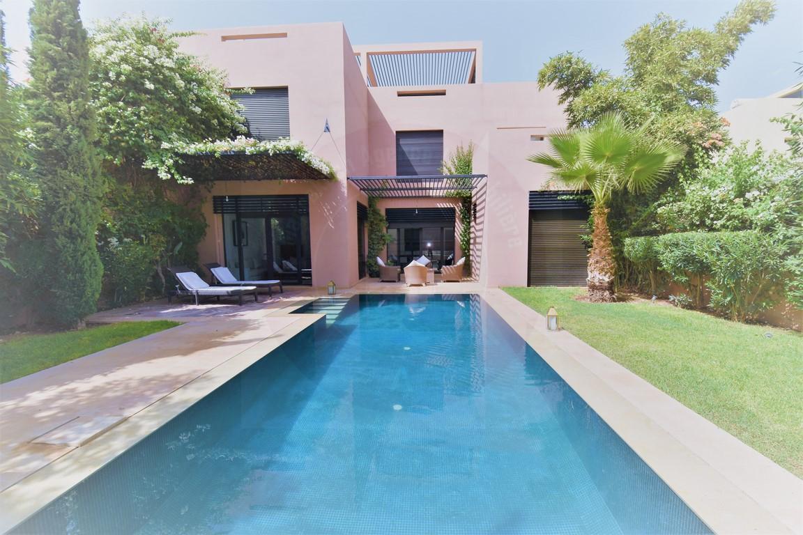 Marrakech Agdal golf villa à louer