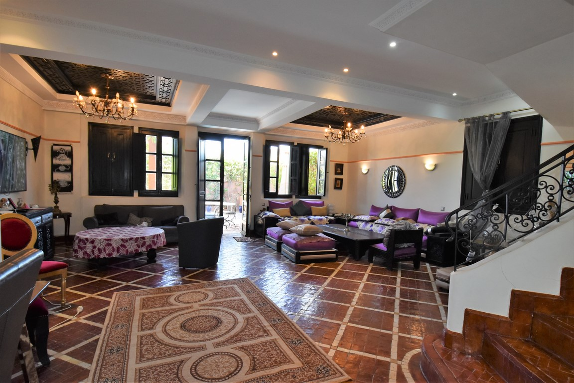 Palmeraie magnifique villa à vendre