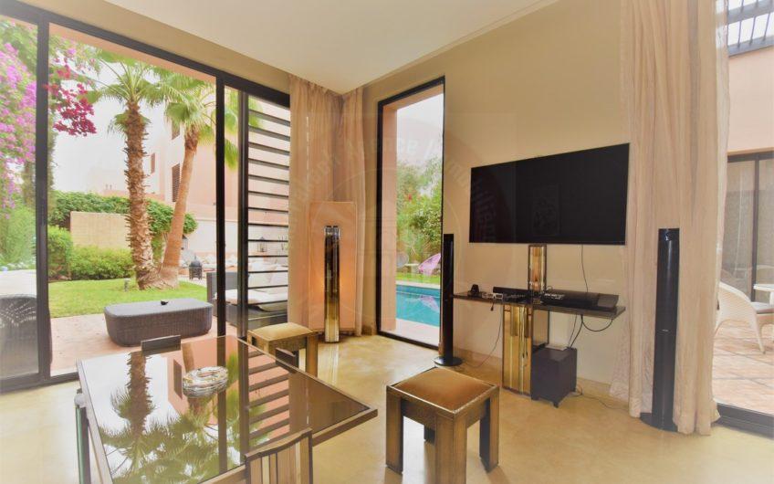 Marrakech villa moderne rénovée à louer