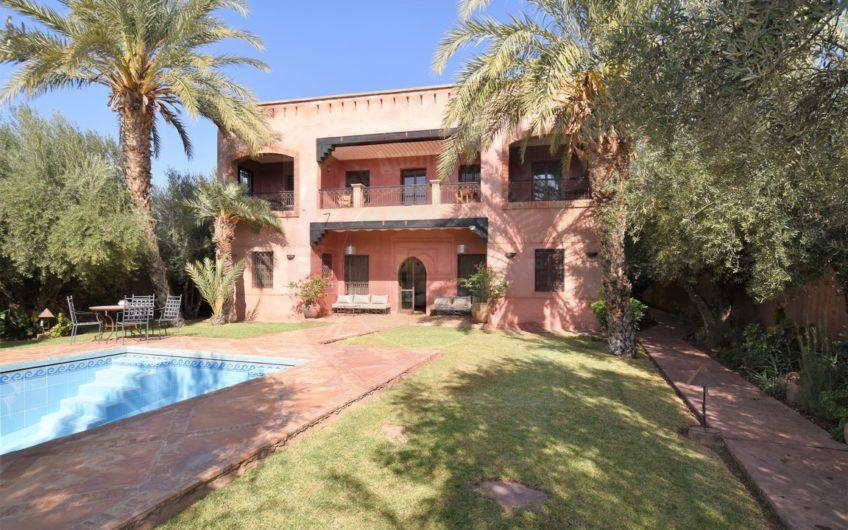Marrakech route de Fès villa à louer