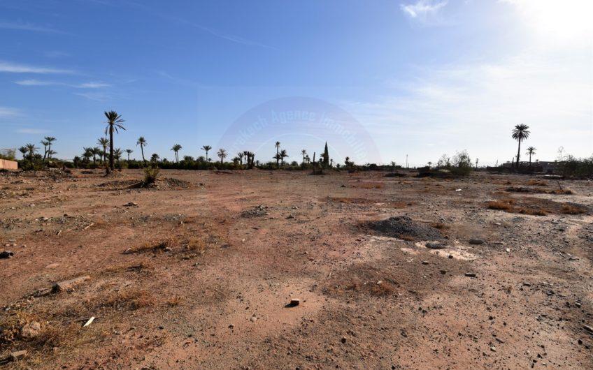 Marrakech Bab Atlas terrain à vendre