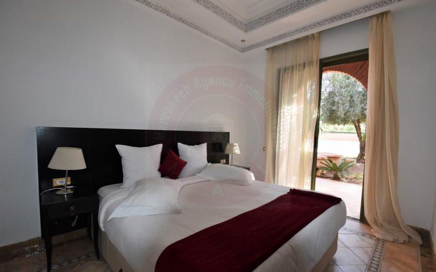 Exclusivité Marrakech Palmeraie appartement à vendre