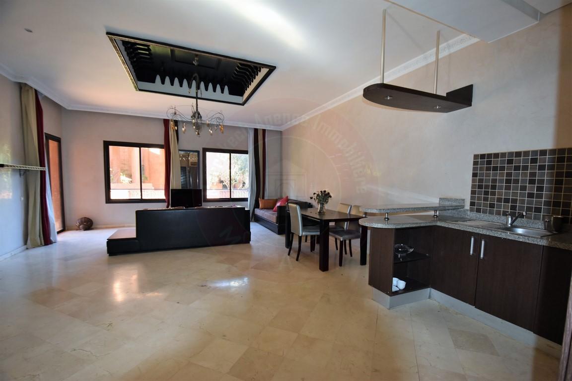 Marrakech Palmeraie magnifique appartement à louer