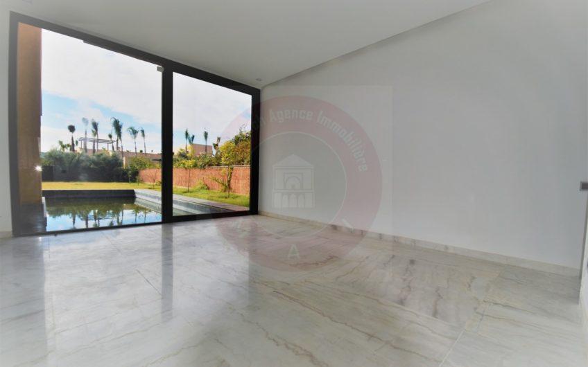 Marrakech école américaine villa moderne