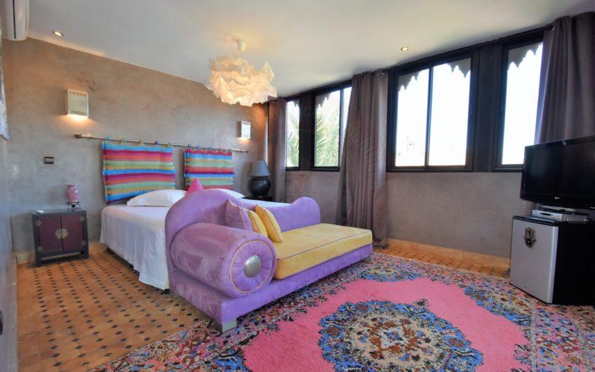 Marrakech Palmeraie magnifique villa de 4 suites