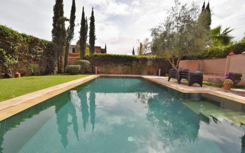 Marrakech luxueuse villa résidence golfique