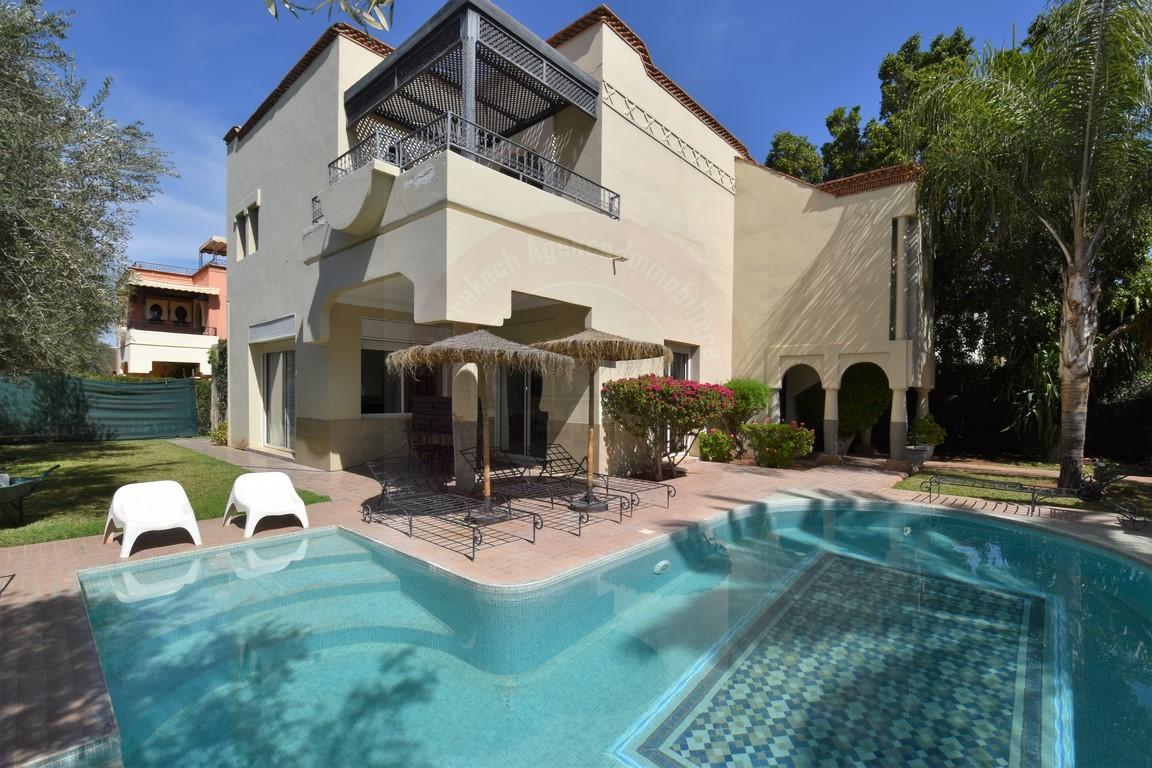 Marrakech Ecole américaine location villa