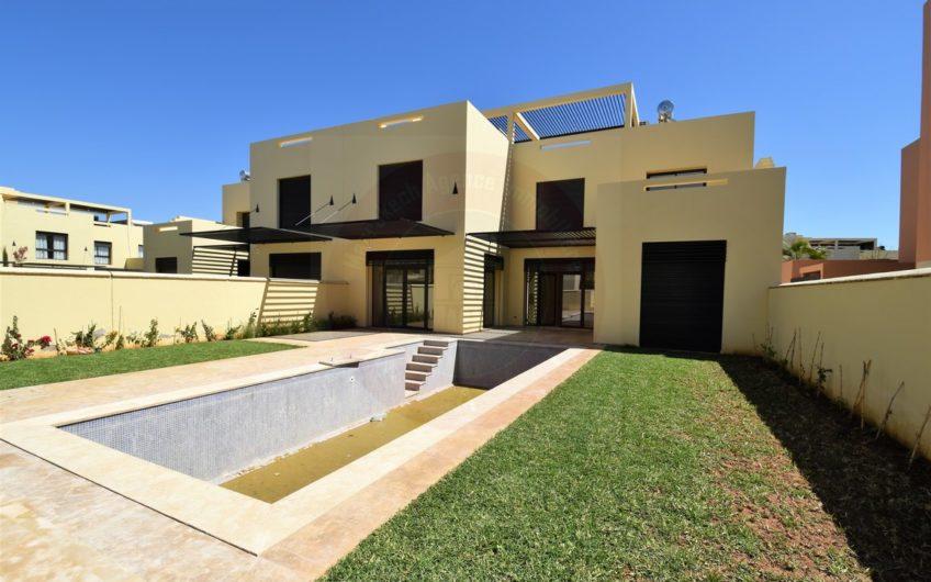 Marrakech vente villa proximité golf