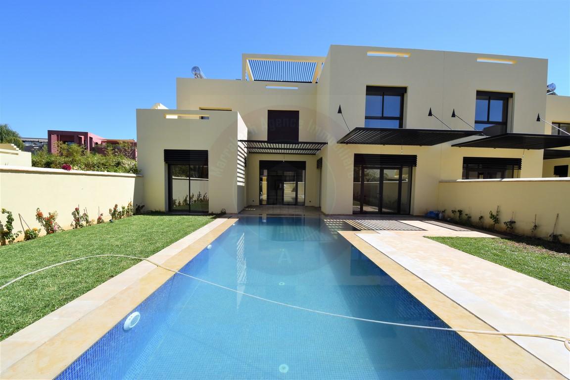 Marrakech Golf vente villa 4 chambres