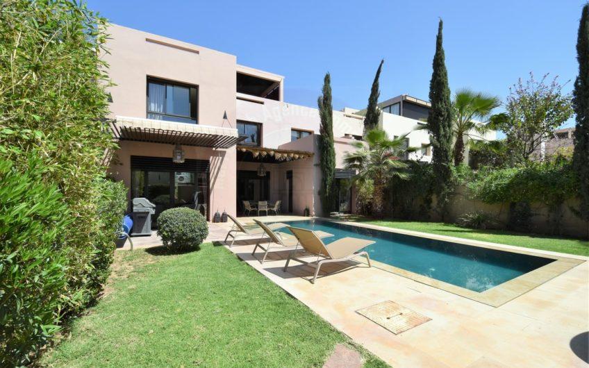 Marrakech Golf location villa meublée