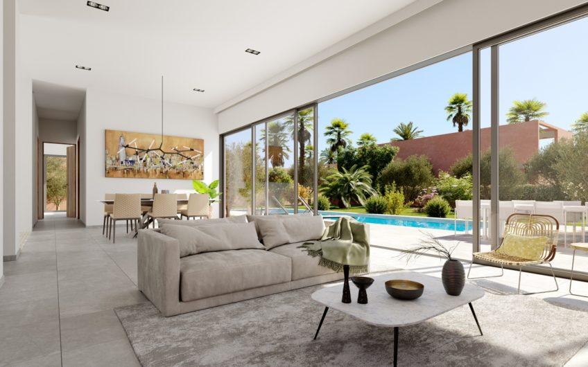 Marrakech route ourika villa moderne