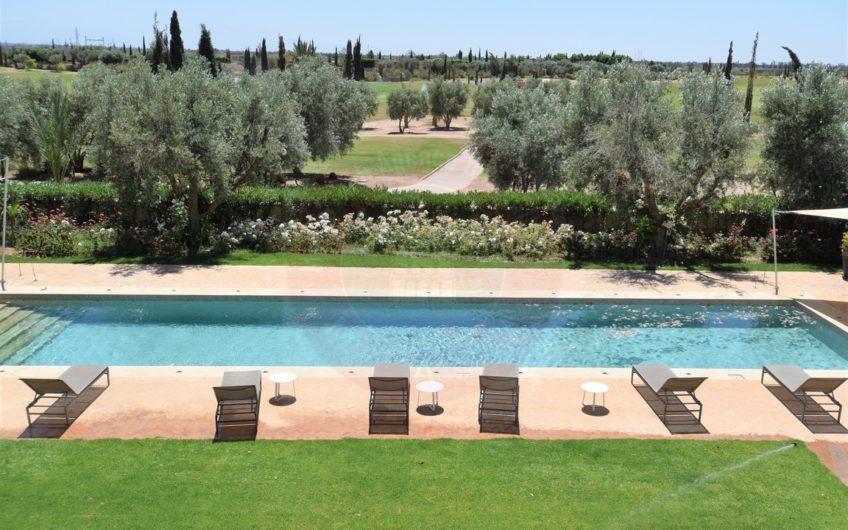 Marrakech vente villa 1ère ligne golf