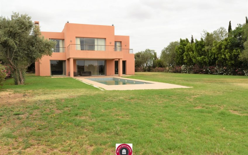 Marrakech vente villa sur golf