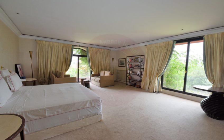 Marrakech Amelkis exceptionnelle villa à la vente
