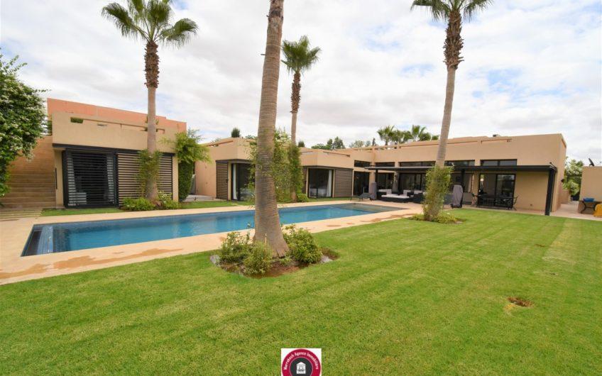 Marrakech belle villa à la vente sur golf