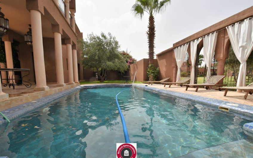 Marrakech belle villa à la vente piscine privative