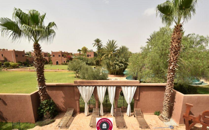 Marrakech villa riad piscine location longue durée