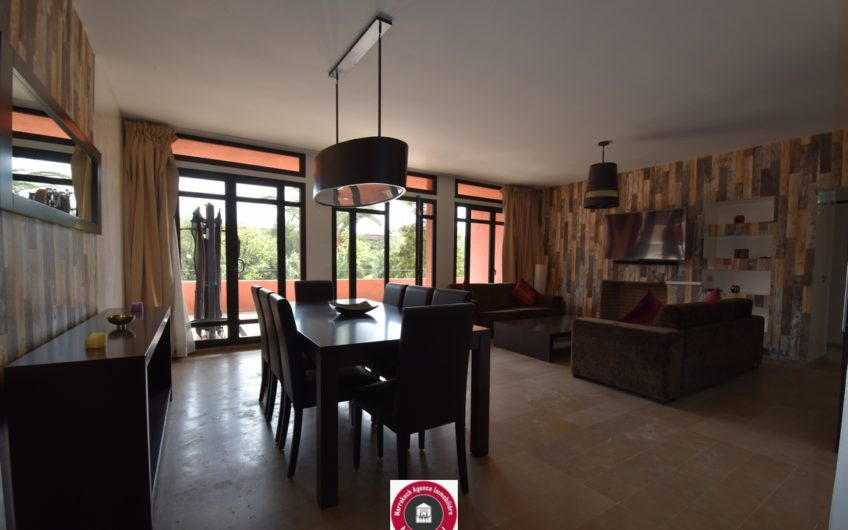 Marrakech Amelkis appartement terrasse à la location