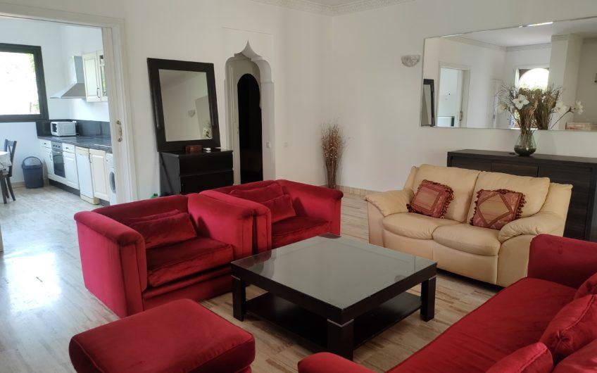 Marrakech Agdal appartement jardin à la location