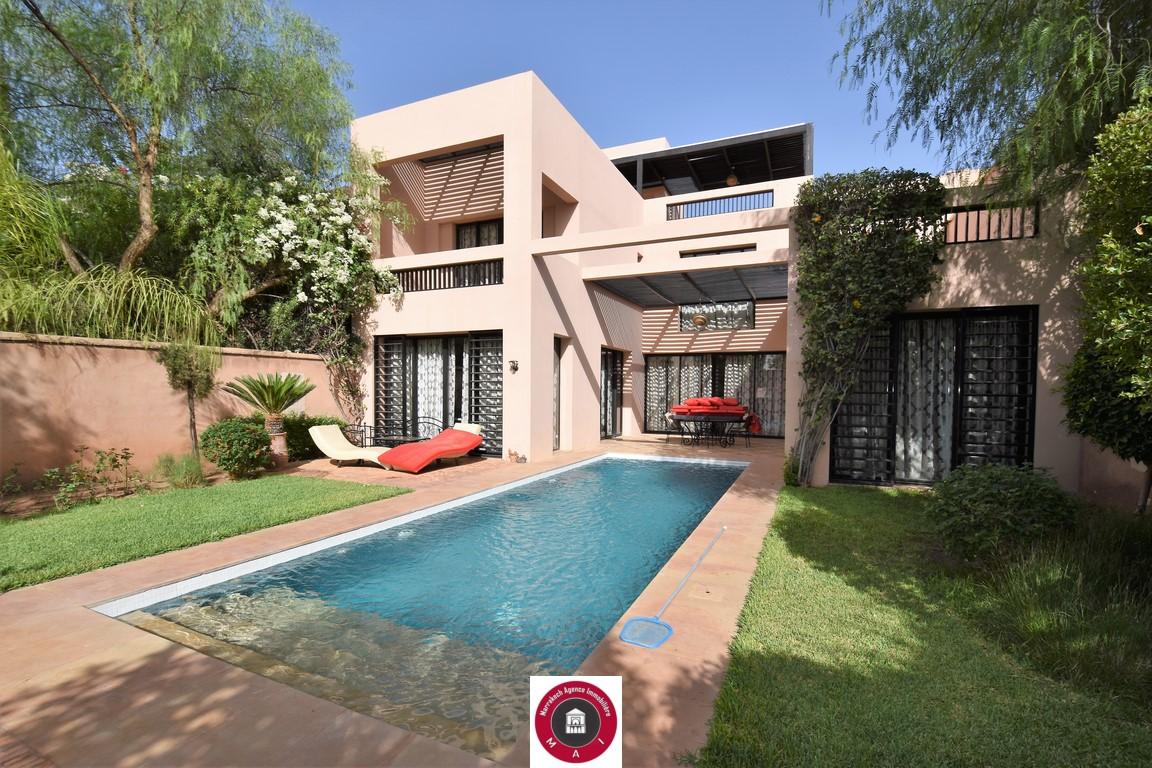 Marrakech Palmeraie villa location VIDE
